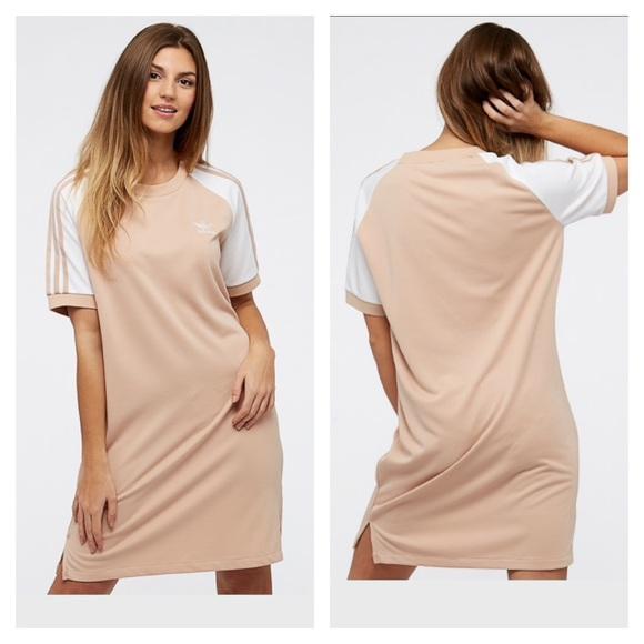 242a4e13226 adidas Dresses   1 Left Nwt Originals 3 Stripe Dress   Poshmark